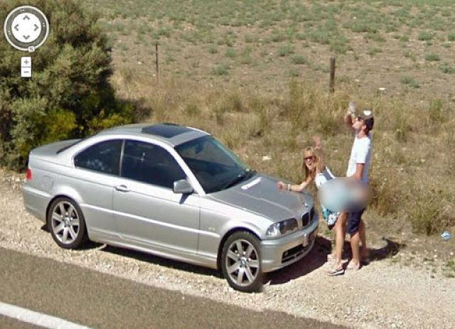 Imágenes curiosas Google Maps