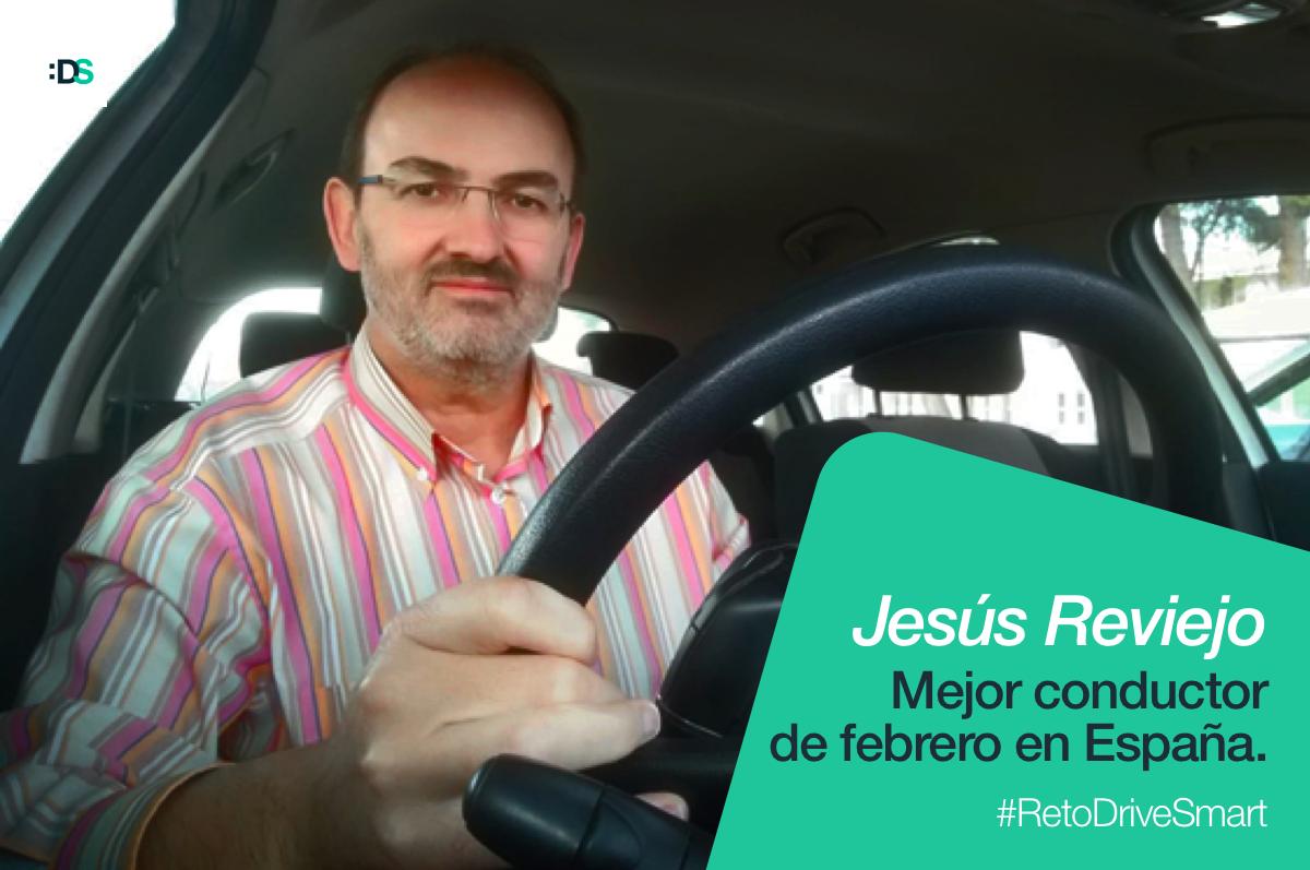 Jesús Reviejo Sánchez, ganador del Reto :DriveSmart de febrero de 2019