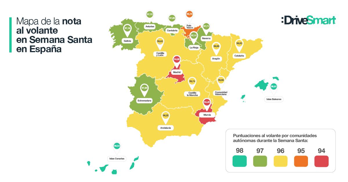 ¿Cómo conducimos en España en Semana Santa 2019?