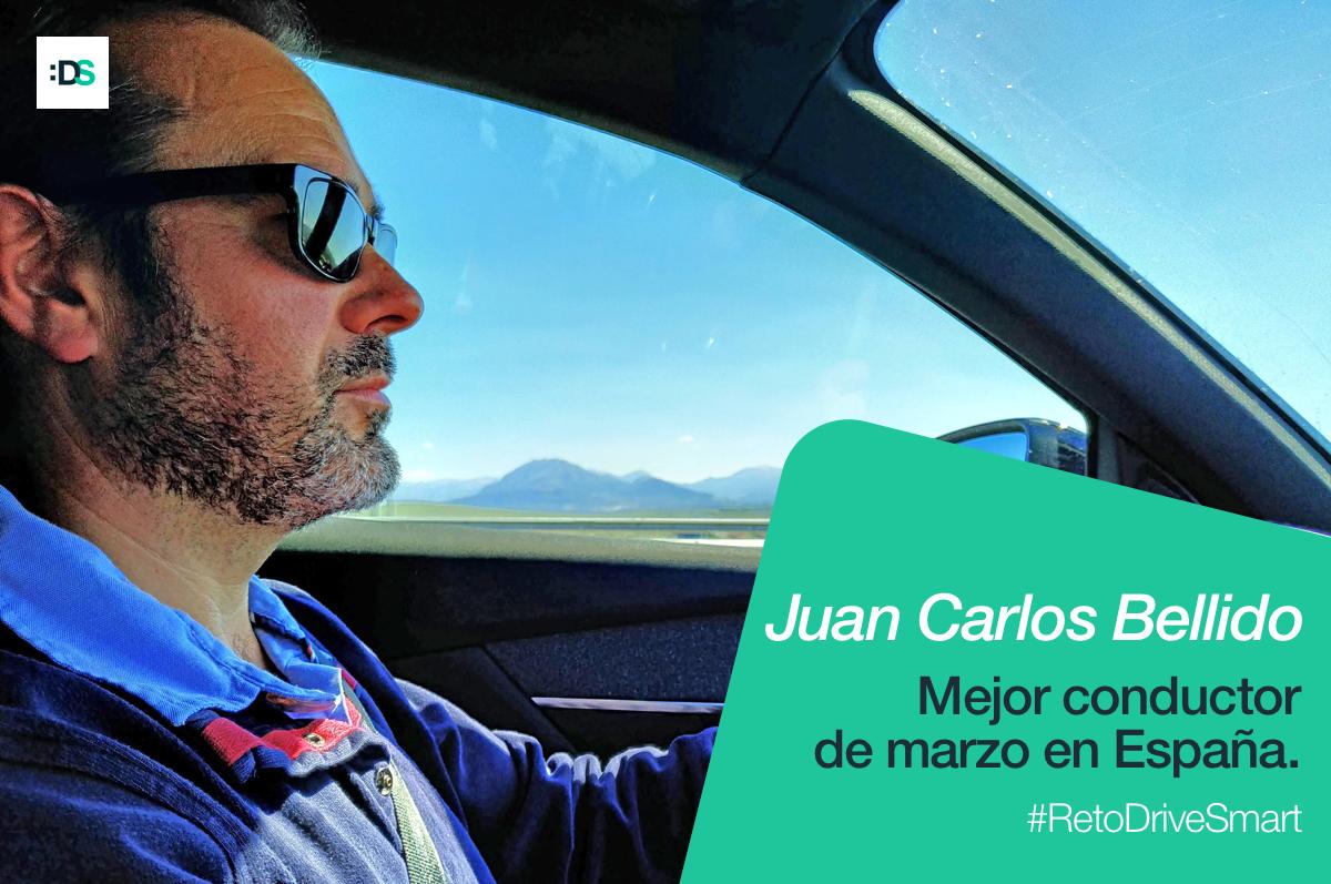 Juan Carlos Bellido es el ganador del Reto :DriveSmart de marzo