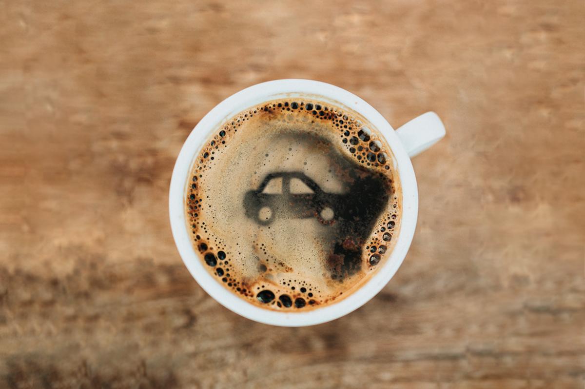 Beneficios del café para conducir