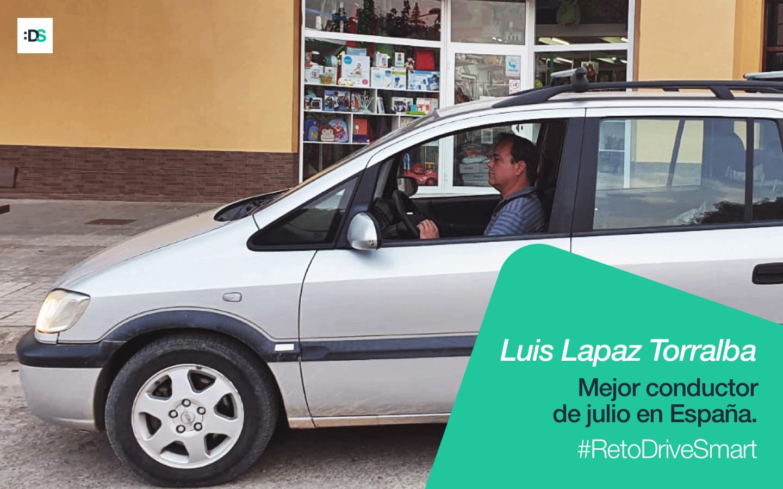 Luis Lapaz, ganador del Reto de julio