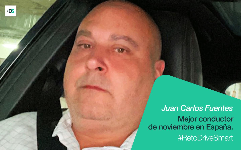 Juan Carlos Fuentes Pardo, ganador del Reto DriveSmart de noviembre de 2019