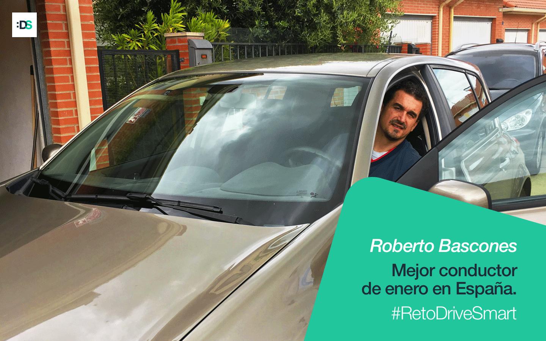 Roberto Bascones es el ganador del Reto DriveSmart de enero de 2020