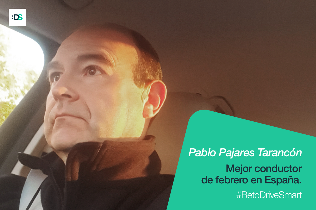 Pablo Pajares Tarancón, ganador del Reto DriveSmart en febrero de 2020