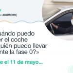 Fase 0 desde el 11 de mayo: ¿Cuándo puedo usar el coche y a quién puedo llevar? ¿Y en moto?