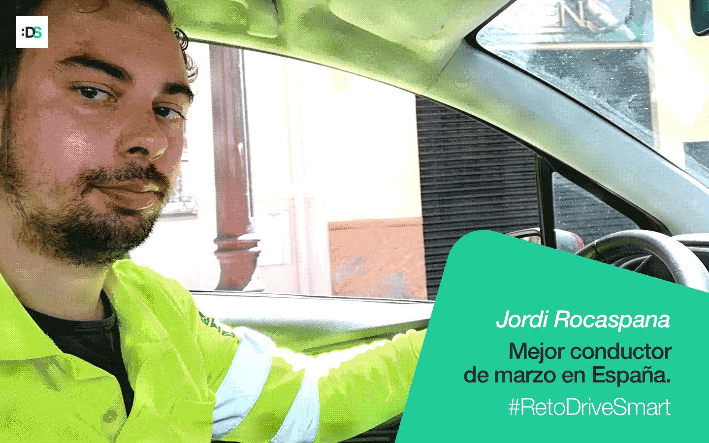 Entrevista a Jordi Rocaspana, el mejor conductor de España de marzo de 2020