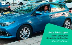 Jesús Prieto López es el ganador del Reto DriveSmart de agosto