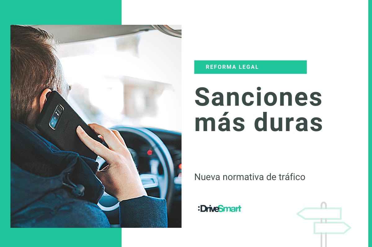 Nuevas sanciones a conductores con la nueva reforma de la DGT