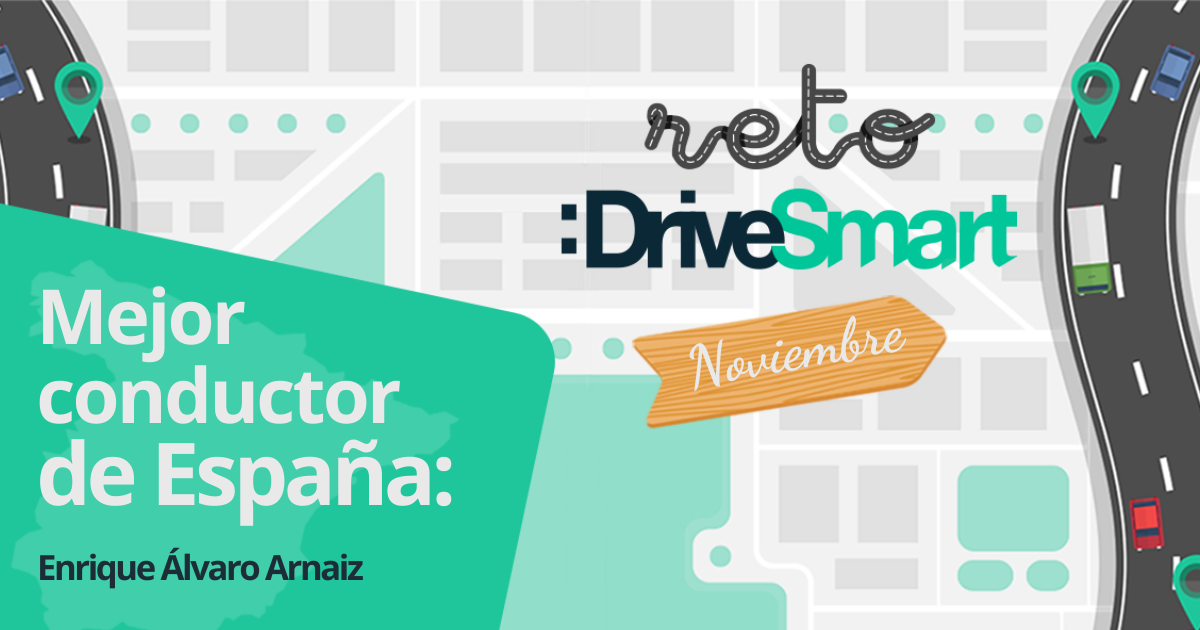 Enrique Álvaro Arnáiz, ganador del Reto DriveSmart de noviembre