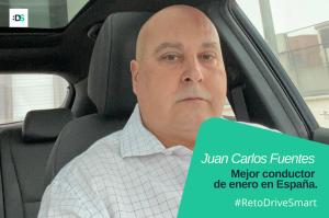 Juan Carlos Fuentes Pardo, ganador del Reto DriveSmart de enero de 2021