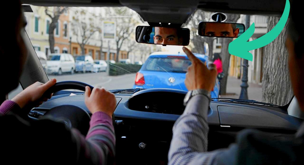 Tipos de faltas en el examen práctico del carnet de conducir