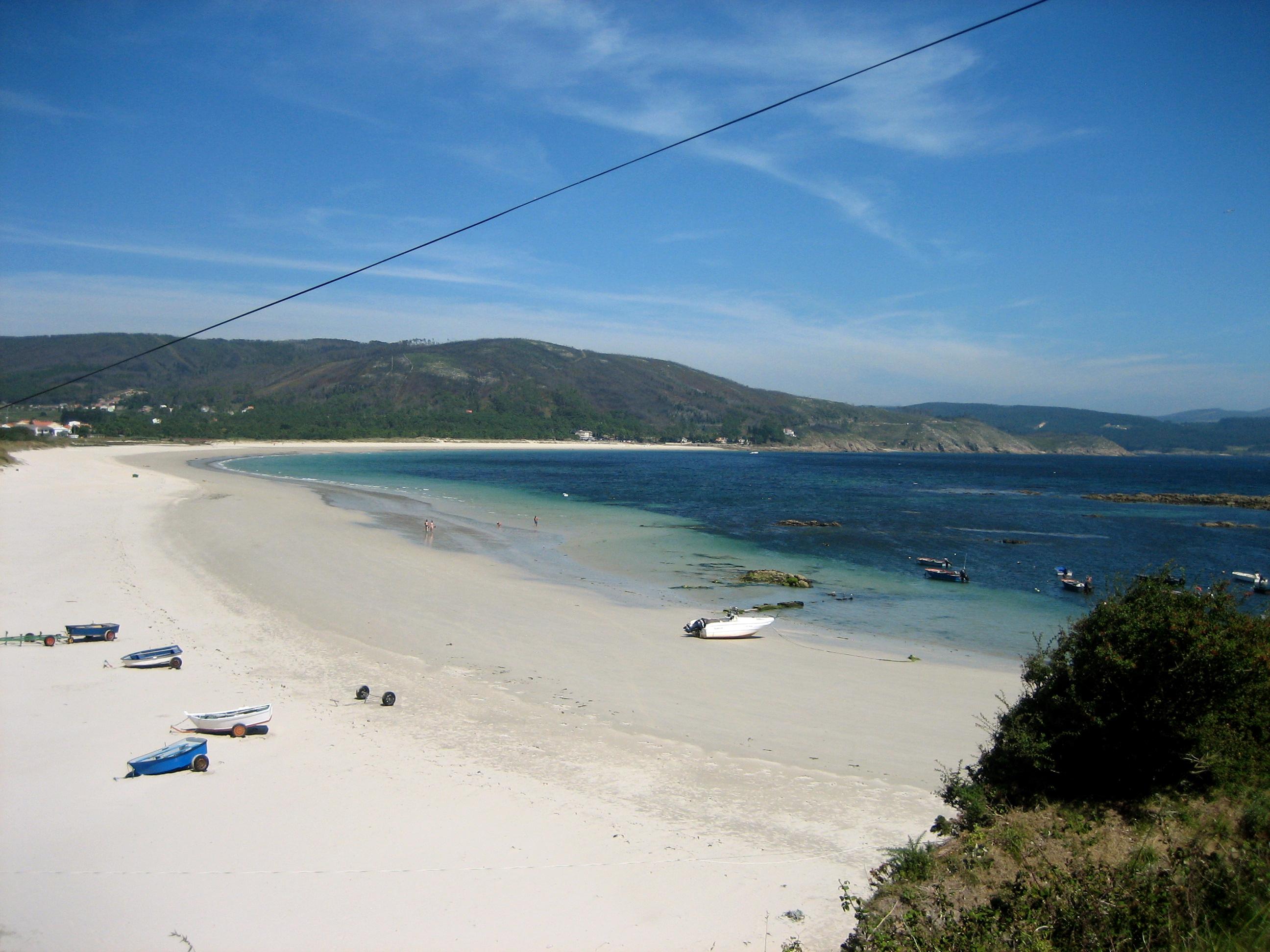 La playa de Langosteira, en Camariñas