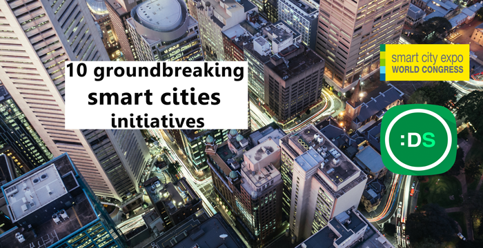 Groundbreaking smart cities initiatives