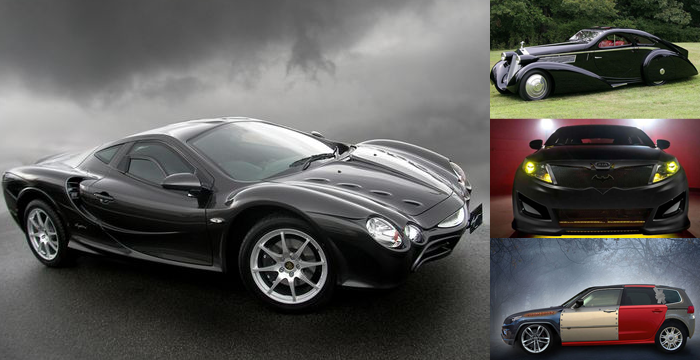 Collage of various cars mentioned in the article