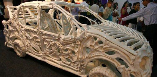 Skeleton Car