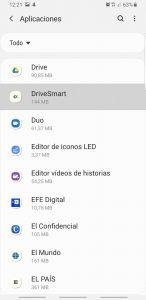 Configurar DriveSmart en Samsung Galaxy S8/S9/S10