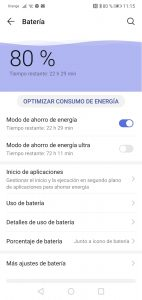 Configurar DriveSmart en Huawei P20 Lite