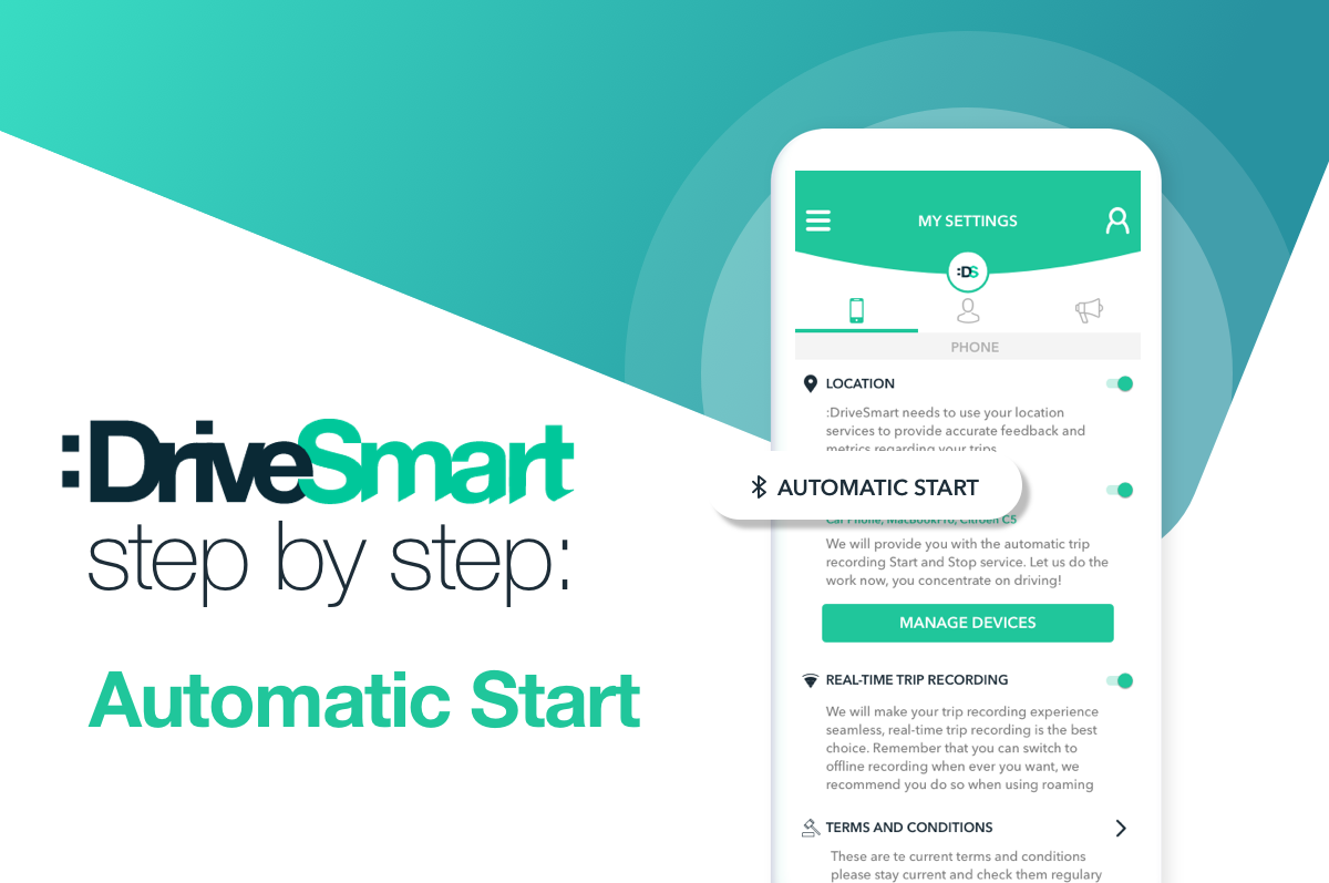 How to configure the Automatic Start in :DriveSmart