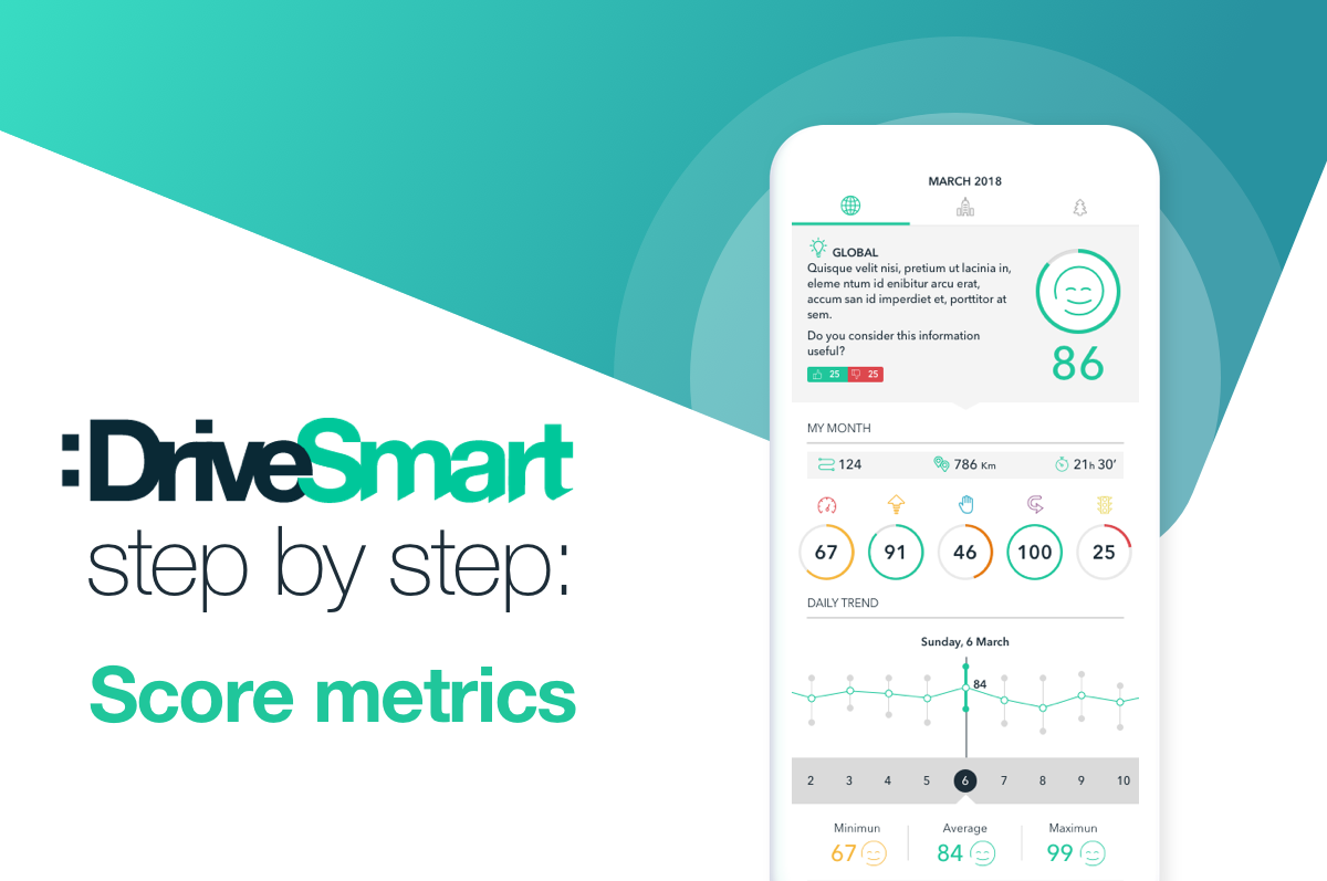 What is the Score Metrics in :DriveSmart?