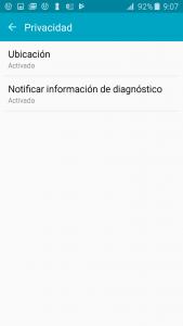 Configurar DriveSmart en Samsung con Android 5.0
