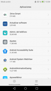 Configurar DriveSmart en Huawei P8 Lite