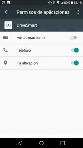Configurar DriveSmart en LG K11