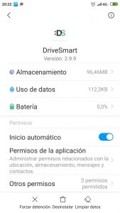 Configurar DriveSmart en Xiaomi MDG6S