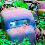 L'inquiétant cimetière de voiture de Chatillon