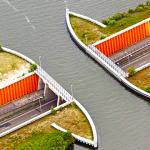 L'aqueduc magique de Veluwemeer, où les voitures … «disparaissent»