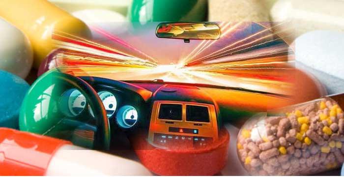 Los efectos de las drogas al volante